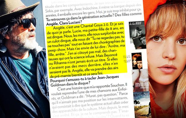 Jean-Louis Murat clash Angèle dans Paris Match ! #clash