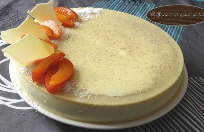 Entremet vanille abricot