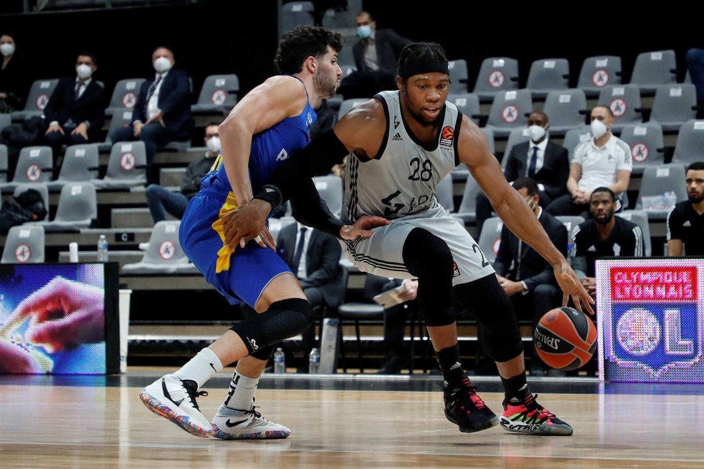 EuroLeague : l'Asvel Villeurbanne fait chuter le Maccabi Tel-Aviv à l'Astroballe