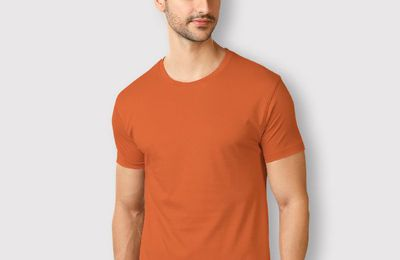 Attractive Variants of Men's Plain T Shirts to Purchase Online