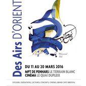 Des Airs d'Orient à Penhars, du 11 au 20 mars - Penhars Infos Quimper