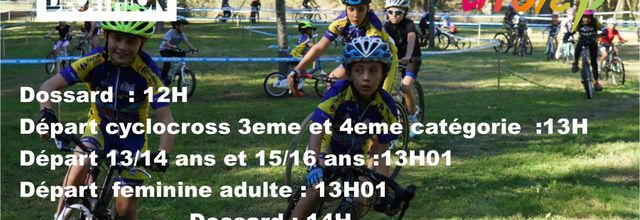 engagement cyclo-cross Loures Barousse
