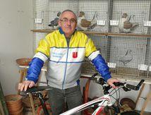 Jean-Marie Vignaud, vététiste et éleveur de pigeons Strasser et Texan