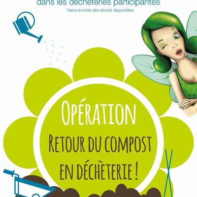 Valodéa : Opération « Retour du compost en déchèterie » 12ème édition.