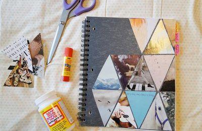 DIY : décorer ses fournitures scolaires