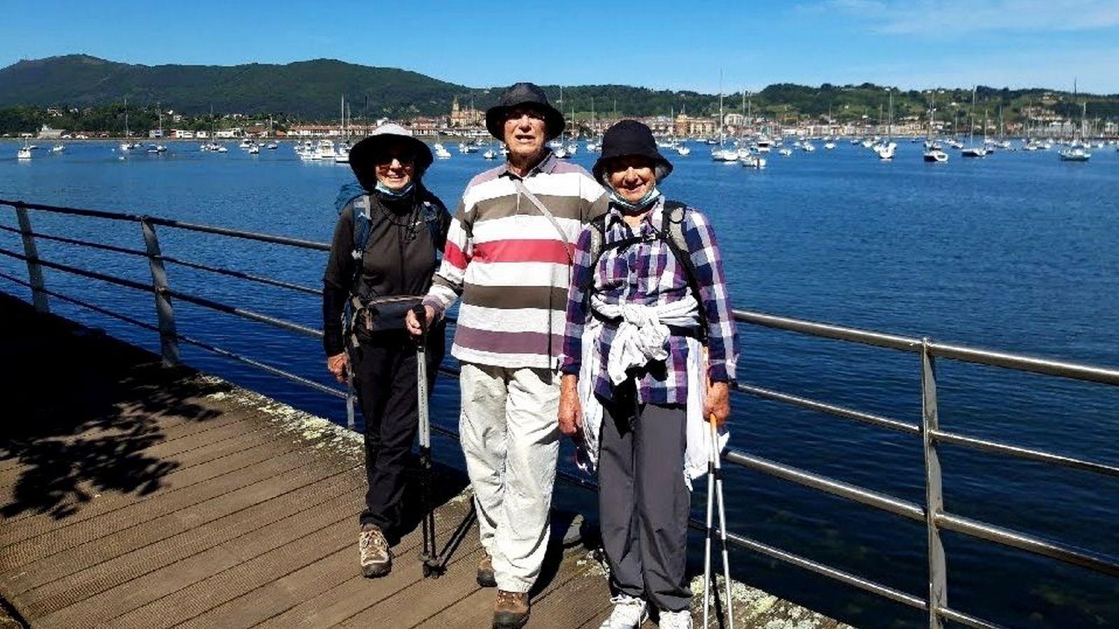 210520g5- à Hendaye : Baie de Txingudi, et passerelle Pierre Loti