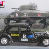 CITROEN TRACTION RALLYE MONTE CARLO ELIGOR 1/43 - car-collector