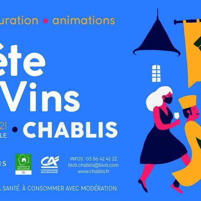 « La fête des vins de Chablis aura bien lieu les 23 & 24 octobre prochains »