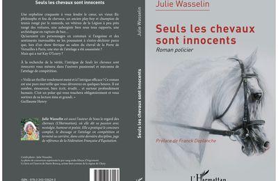 """Une superbe critique Babelio pour mon roman policier """" Seuls les chevaux sont innocents """", par Mme Aline Raynaud"""