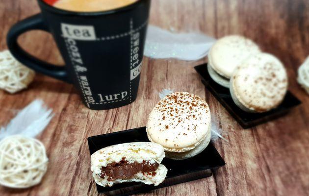 Macarons chocolat noir et fleur de sel