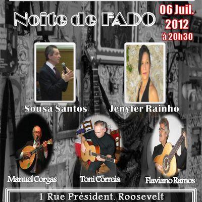 06 Juillet 2012 à CLAMART 92140, LE LUSITANO