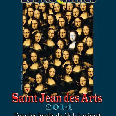 Expositions gardoises : Les Nocturnes de Saint-Jean des Arts