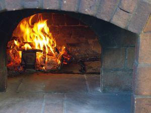 Cade varoise au feu de bois