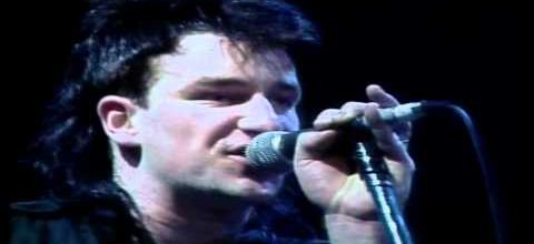 U2-Unforgettable Fire Tour-21/11/1984 Dortmund -Allemagne- Westfalenhalle
