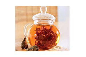 photos de thés fleurissants