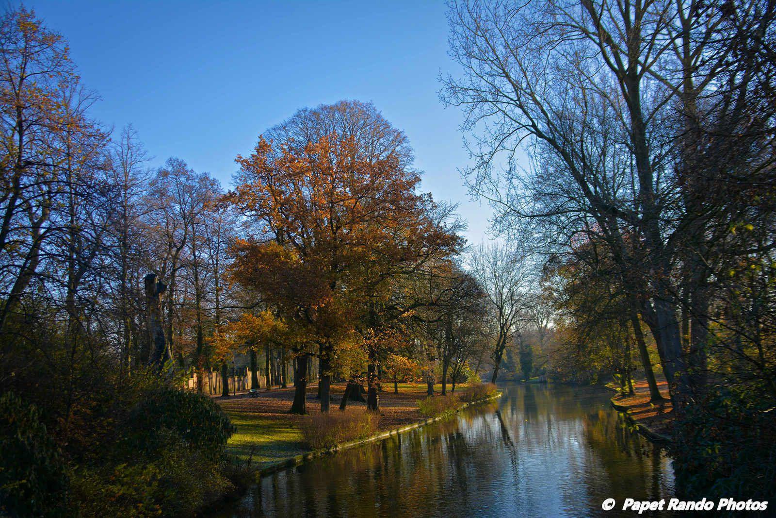 Dans la Venise du Nord, Bruges photos de janvier a decembre, meme sous la Neige