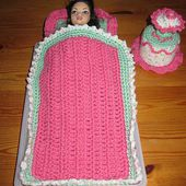 Ensemble de nuit pour Barbie - Le blog de tricotdamandine.over-blog.com