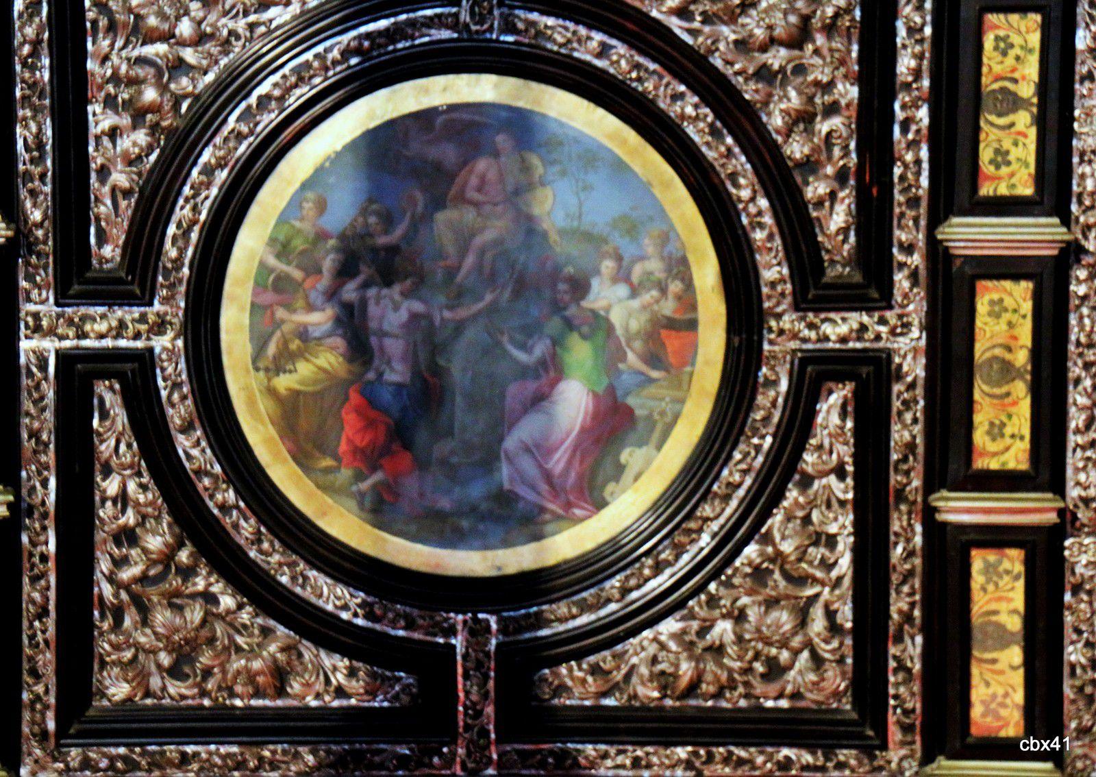 La salle du roi Sébastien, Palais National de Sintra (Portugal)