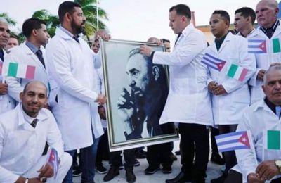 24-02-21- CUBA AIDE LA FRANCE A FAIRE FACE AUX BESOINS MEDICAUX AUX ANTILLES