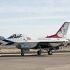 """General Dynamics F-16C/D """"Fighting Falcon"""" Block 52 - Air Demonstration Squadron """"Thunderbirds"""" - 70th anniversary USAF & Special marking """"Las Vegas Strong"""""""
