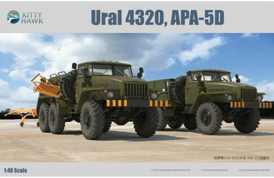 Camions URAL-4320  (Base Kitty Hawk - 1/35 - par Bob)