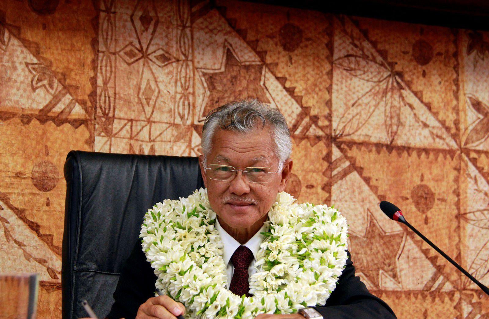 M. Gaston TONG SANG - Président de l'APF - Crédit photo : Assemblée.pf