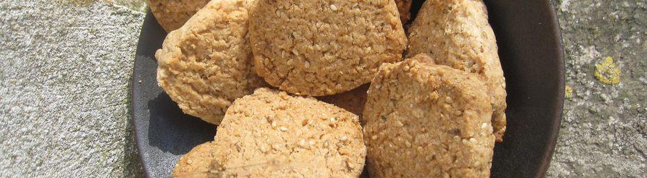 biscuits sablés au sésame
