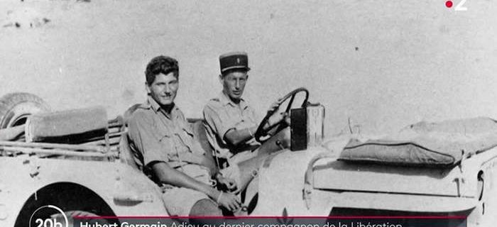 Décès d'Hubert Germain : le dernier compagnon de la Libération s'est éteint