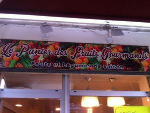 le Panier des Fruits Gourmands Lunel .