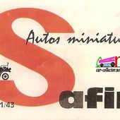 LES MODELES SAFIR - car-collector.net