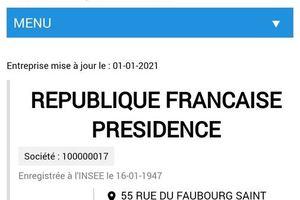 2 MAJ : LE SAVIEZ VOUS ? LA #FRANCE NE NOUS APPARTIENT PAS .🤬 LA #RÉPUBLIQUE FRANÇAISE EST UNE ENTREPRISE (extraits du registre  des Sociétés) depuis 1947