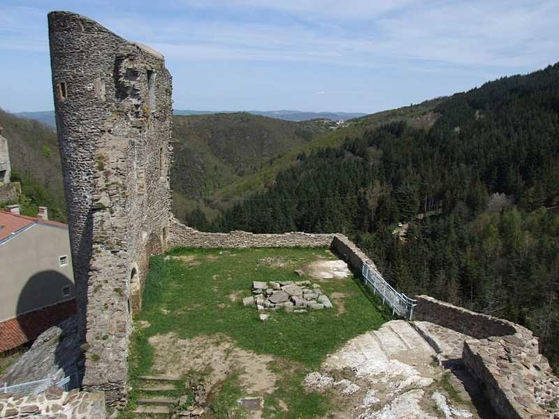 Diaporama château de Rochetaillée