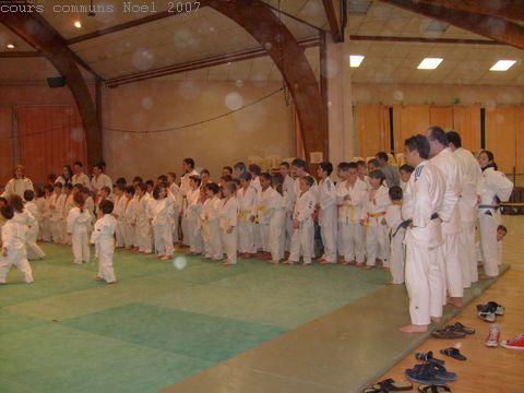 Noël 1er avril Cours commun Paques...au nouveau dojo