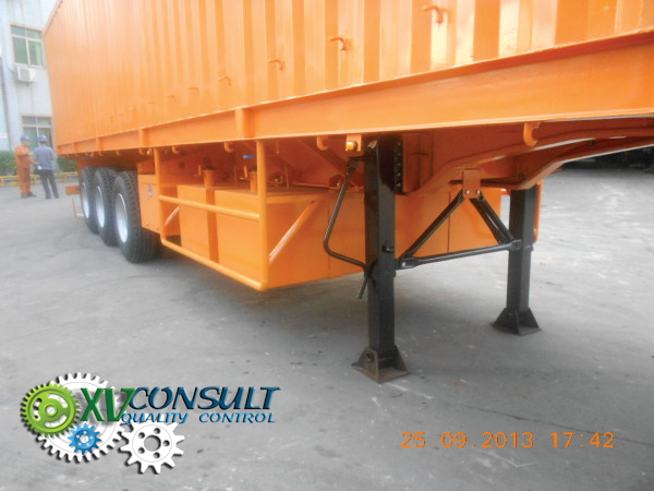 Export  Chine ,fabrication ,controle qualite semi remorques fourgons grand volume porte containers   , service export  et transports . :  info@xvconsult.com