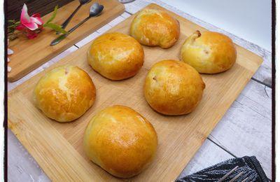 Buns au jambon et au fromage