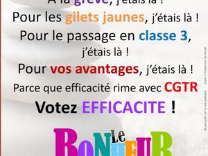 CGTR Groupama - Tracts élections CSE