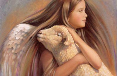 Magnifiques peintures d'enfants - anges by Nancy Noel
