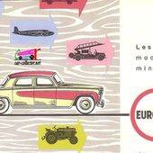 CATALOGUE C.I.J 1960 - CATALOGUE EUROPARC 1960 - car-collector.net: collection voitures miniatures