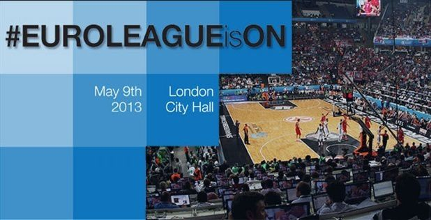 #EUROLEAGUEisON to tip off 2013 Turkish Airlines Euroleague in LondON