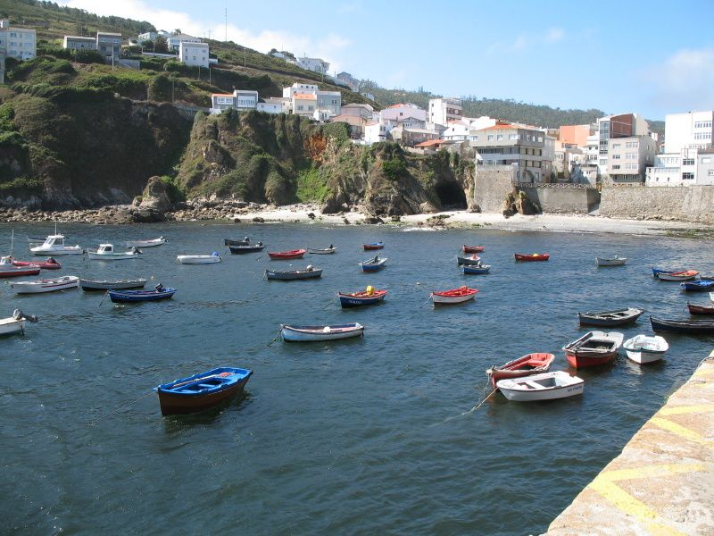 Caión est un petit village typique de Galice de 680 habitants qui se situe à environ 20 km de la Coruña...