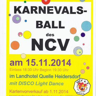 Karneval in Heidersdorf am 15.11.14
