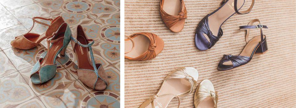 Sélection sandales confortables et élégantes 2020, petit talon