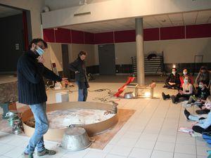 """Projet théâtre avec la """"Fabrique des Petites Utopies"""" et l'EPCC TEC pour l'école de  La Chapelle de Surieu"""