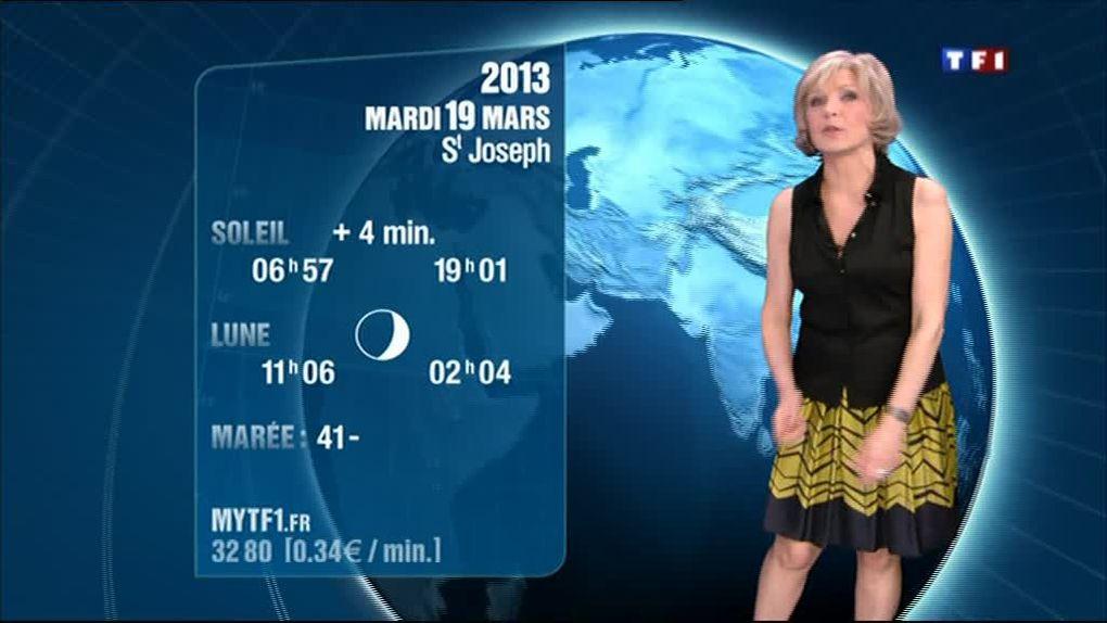 Evelyne Dhéliat 18 mars 2013 soir