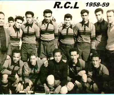 Le Racing club de Laghouat.1958-1959.