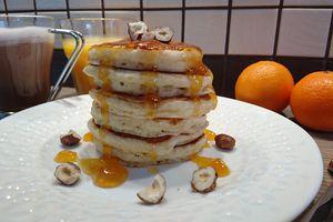 Pancakes de Martha Stewart