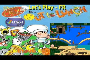 Amiga Let's Play FR - Pierre petit chef is out to lunch (1994 - AGA)