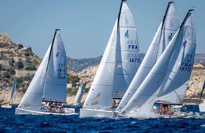 A Marseille, l'UNM consolide son pôle de voiliers de compétition J/70 !