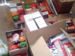50 colis Alimentaire ont été distribuer avec vos dons