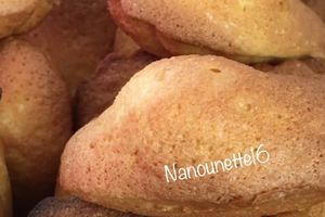 Madeleines aux superbes bosses - THERMOMIX
